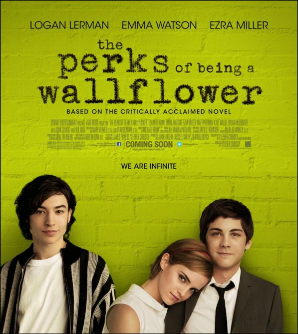 "Filmo ""The Perks of Being a Wallflower"" plakatas"