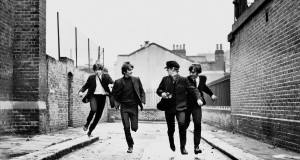 "Kadras iš filmo ""The Beatles: A Hard Day's Night"" Kino teatro ""Pasaka"" archyvas"