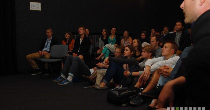 Vilniaus kino šortai 2012. Šarūnės Rudžianskaitės nuotrauka