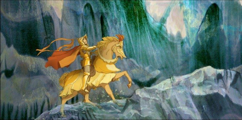 Auštvydas, Aukso žirgas, Valentas Aškinis