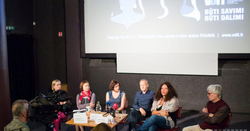 VDFF'14 spaudos konferencija, Vilijos Buivydės nuotrauka