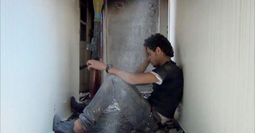 """Kadras iš filmo """"Sugrįžimas į Homsą"""" VDFF archyvas"""