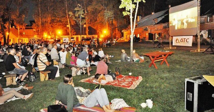 """Vasaros kino festivalio """"Sidabrinės gervės naktys"""" Organizatorių nuotrauka"""