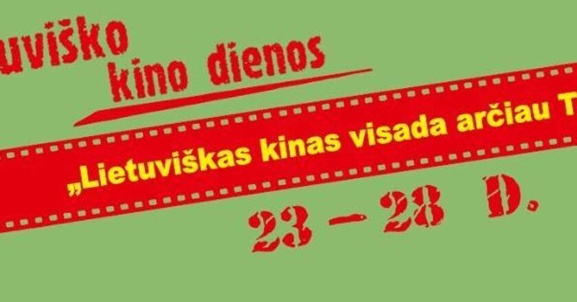 """Lietuviško kino dienos Kino centro """"Garsas"""" archyvas"""