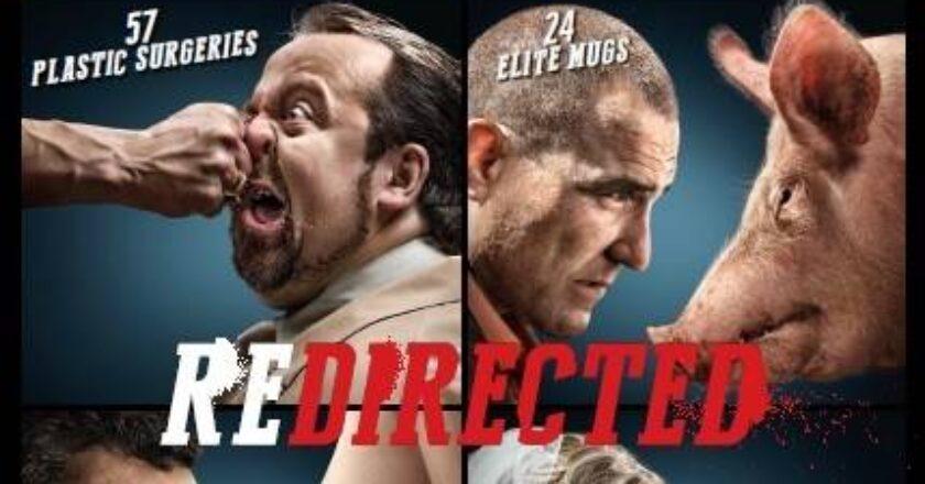 """Filmo """"REDIRECTED"""" plakatas, Filmo kūrėjų archyvas"""