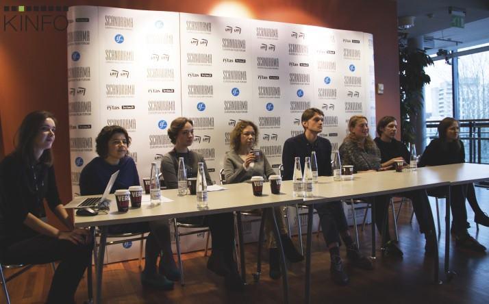 """""""Naujojo Baltijos kino"""" programos pristatymas Nerijaus Širvio nuotrauka"""