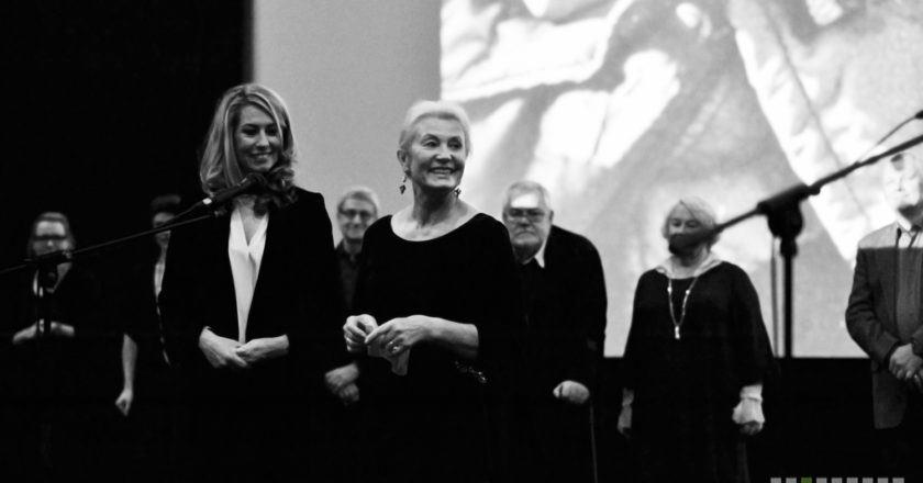 """Giedrė Žickytė ir Tatjana Luckienė-Aldag Filmo """"Meistras ir Tatjana"""" premjera Lauros Urbonavičiūtės nuotrauka"""