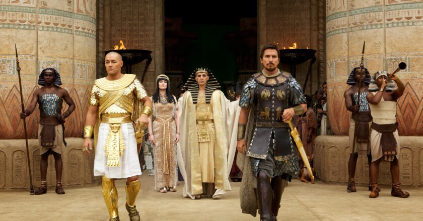 """Kadras iš filmo """"Egzodas: dievai ir karaliai"""" """"Du Kine"""" archyvas"""