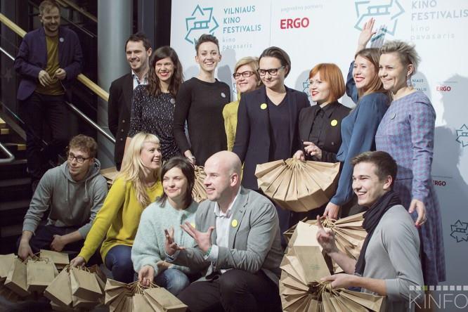 """Festivalio """"Kino pavasaris"""" naujienų pristatymas, Monikos Daužickaitės nuotrauka"""