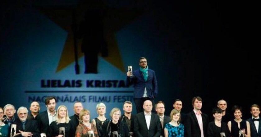 Latvijos kino apdovanojimai Didysis Kristupas, geriausias operatorius - Janis Eglitis (viršuje) Filmo kūrėjų archyvas
