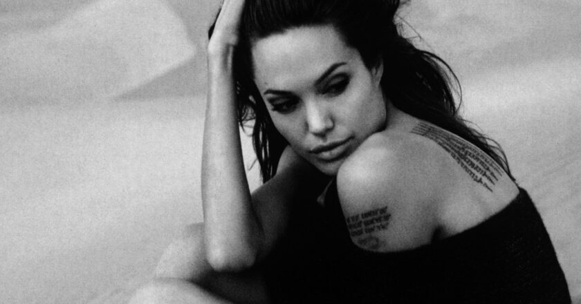 Aktorė Angelina Jolie Šaltinis - fanpop.com