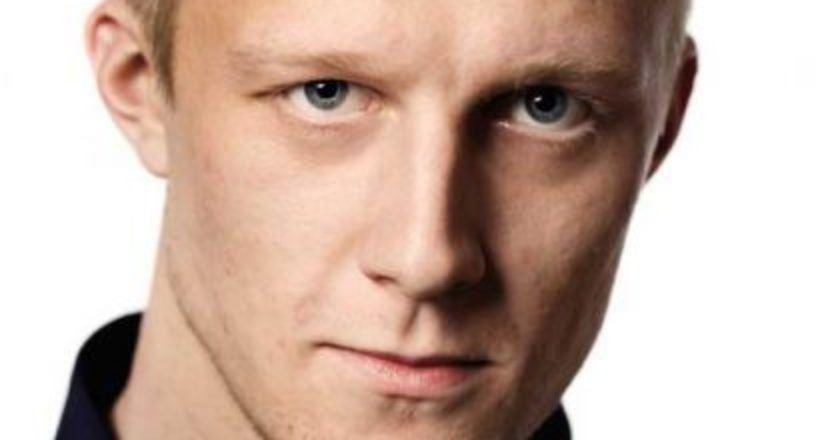 Aktorius Joachimas Fjelstrupas Shooting Stars archyvas