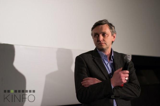 Režisierius Sergejus Loznitsa Lauros Urbonavičiūtės nuotrauka