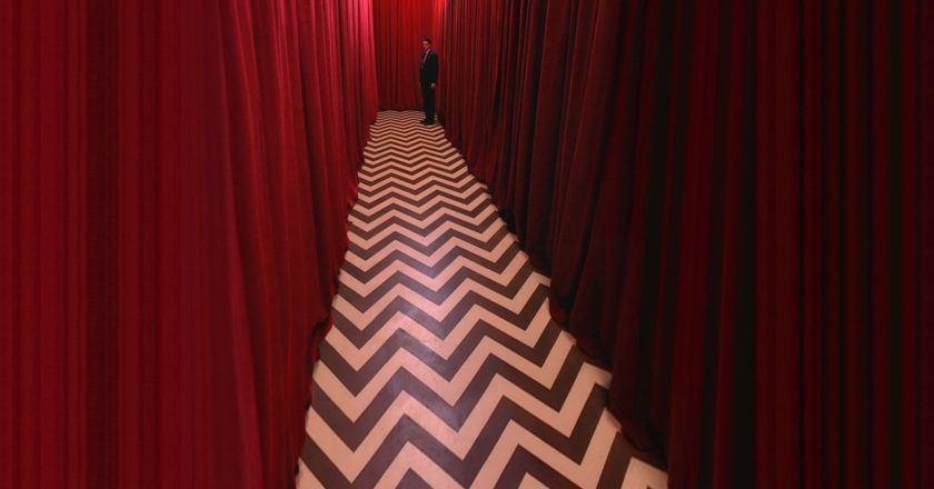 """Kadras iš serialo """"Twin Peaksas"""" Šaltinis - chezapocalypse.com"""