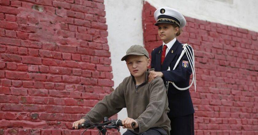 """Kadras iš filmo """"Mažasis Kenkenas"""" Festivalio """"Kino pavasaris"""" archyvas"""